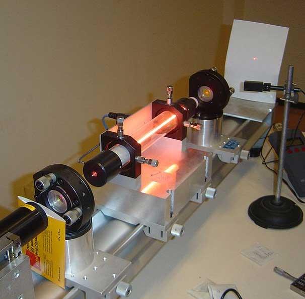 helium neon laser gases