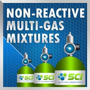 non reactive multi gas mixtures