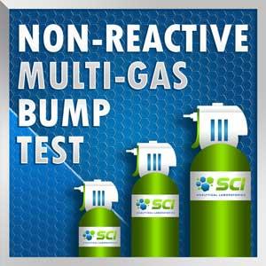 non reactive bump test multi gas