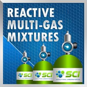 reactive multi gas mixtures