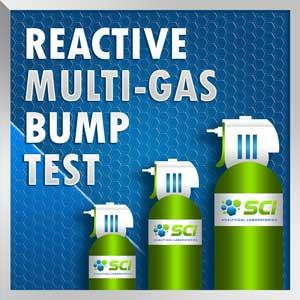reactive multi gas bump test