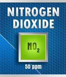 Gasco 112-50: Nitrogen Dioxide  (NO2) Calibration Gas – 50 PPM