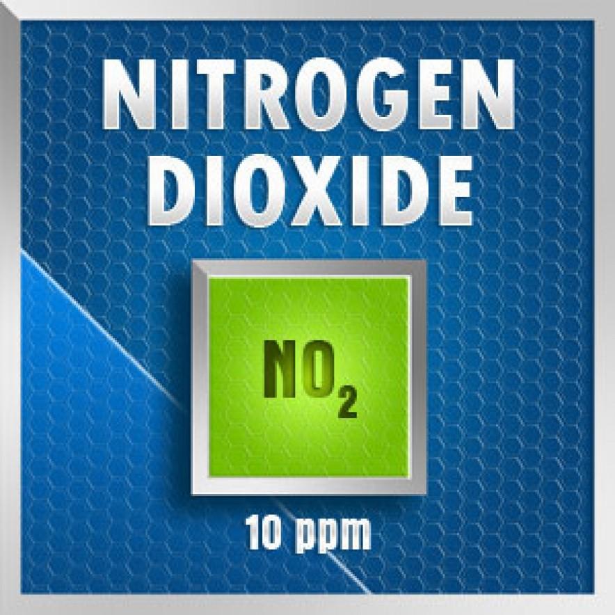 Gasco 112-10: Nitrogen Dioxide  (NO2) Calibration Gas – 10 PPM 1