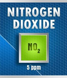 Gasco 112-5: Nitrogen Dioxide  (NO2) Calibration Gas – 5 PPM