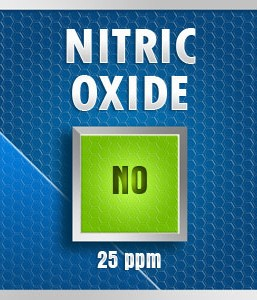 Gasco 125-25: Nitric Oxide (NO) Calibration Gas – 25 PPM