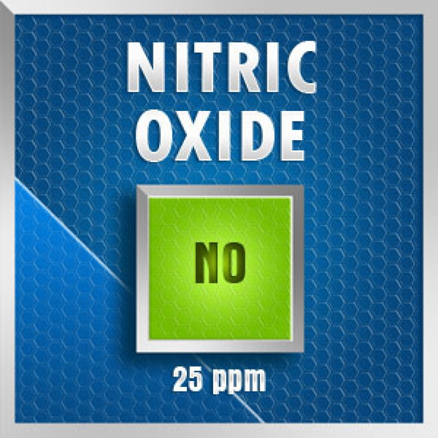 Gasco 125-25: Nitric Oxide (NO) Calibration Gas – 25 PPM 1