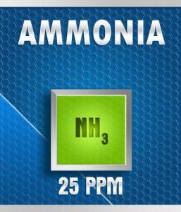 Gasco 13-25: Ammonia (NH3) Calibration Gas – 25 PPM