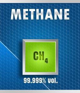 Gasco 132: Methane (CH4) 99.999% vol. Calibration Gas