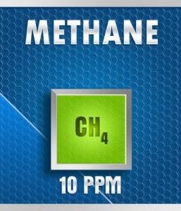 Gasco 150A-10: Methane (CH4) Calibration Gas – 10 PPM