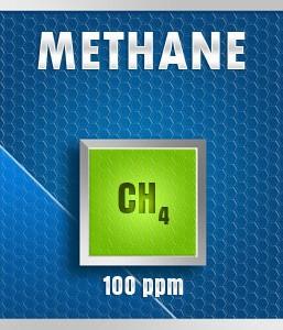 Gasco 150A-100: Methane (CH4) Calibration Gas – 100 PPM