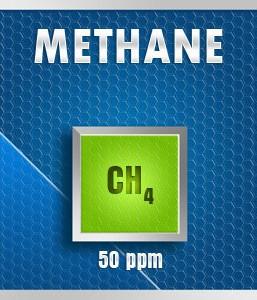 Gasco 150A-50: Methane (CH4) Calibration Gas – 50 PPM
