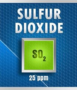Gasco 175-25: Sulfur Dioxide (SO2) Calibration Gas – 25 PPM