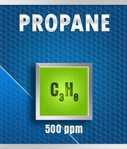 Gasco 176P-500: Propane (C3H8) Calibration Gas – 500 PPM