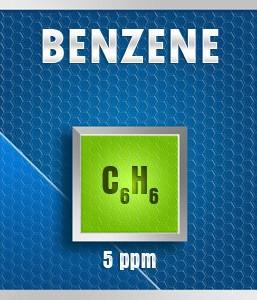 Gasco Bump Test 21-5: Benzene (C6H6) Calibration Gas – 5 PPM