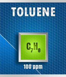 Gasco Bump Test 241N-100: Toulene (C7H8) Calibration Gas  – 100 PPM