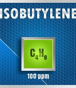 Gasco Bump Test 248-100: Isobutylene (C4H8) Calibration Gas – 100 PPM
