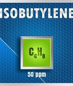 Gasco Bump Test 248-50: Isobutylene (C4H8) Calibration Gas – 50 PPM