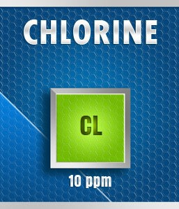 Gasco 252-10: Chlorine (Cl) Calibration Gas – 10 PPM