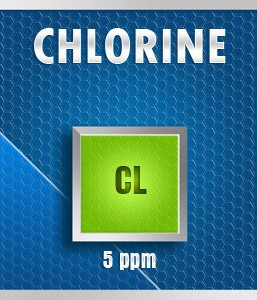 Gasco 252-5: Chlorine (Cl) Calibration Gas – 5 PPM