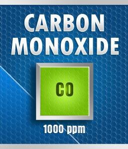 Gasco Bump Test 49-1000: Carbon Monoxide (CO) Calibration Gas – 1000 PPM