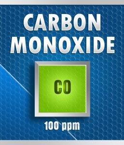 Gasco Bump Test 50-100: Carbon Monoxide (CO) Calibration Gas – 100 PPM
