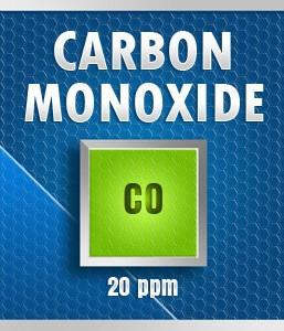 Gasco Bump Test 50-20: Carbon Monoxide (CO) Calibration Gas – 20 PPM