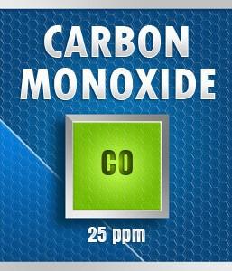 Gasco Bump Test 50-25: Carbon Monoxide (CO) Calibration Gas – 25 PPM