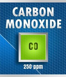 Gasco Bump Test 50-250: Carbon Monoxide (CO) Calibration Gas – 250 PPM