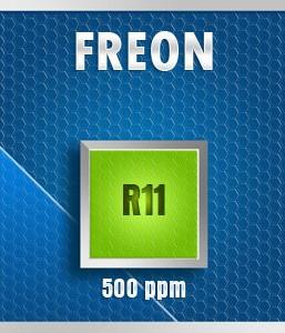 Gasco 78-500: Freon R11 Calibration Gas – 500 PPM
