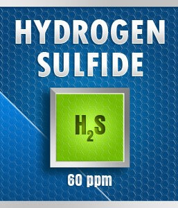 Gasco Bump Test 99-60: Hydrogen Sulfide (H2S) Calibration Gas – 60 PPM