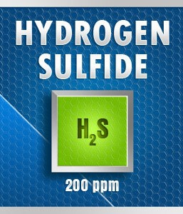 Gasco 99-200: Hydrogen Sulfide (H2S) Calibration Gas – 200 PPM