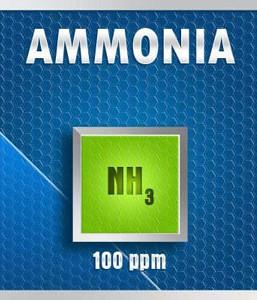 Gasco 14-100: Ammonia (NH3) Calibration Gas – 100 PPM