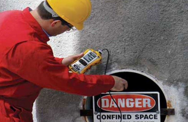 confined space monitoring gases