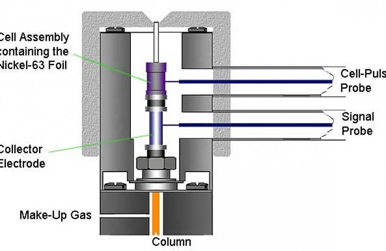 Flame Ionization Diagram