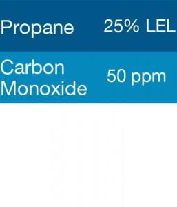 Gasco 317 Multi-Gas Mix: 25% LEL Propane, 19% Oxygen, Balance Nitrogen