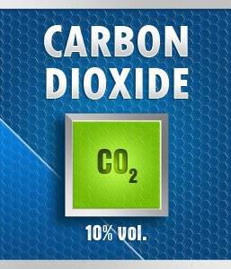 Gasco Bump Test 35-10: Carbon Dioxide (CO2) 10% vol. Calibration Gas