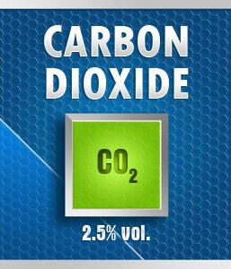 Gasco Bump Test 35-2.5: Carbon Dioxide (CO2) 2.5% vol. Calibration Gas