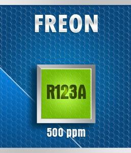 Gasco Bump Test 80-500: Freon R123A Calibration Gas – 500 PPM