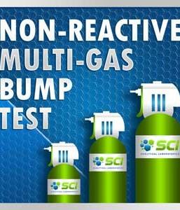 Gasco 402E Multi-Gas Mix: 50 PPM Carbon Monoxide, 1.25% Vol. = (50% LEL) Pentane simulant, 18.0% Oxygen, 25 PPM Hydrogen Sulfide, Balance Nitrogen