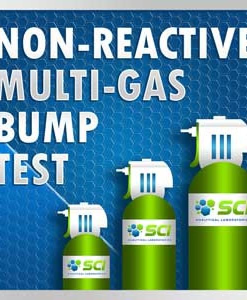 Non-Reactive Bump Test Multi-Gas Mixtures