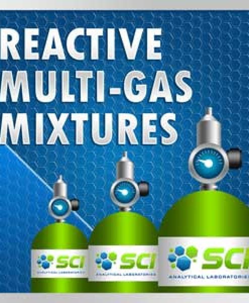 Reactive Multi-Gas Mixutures